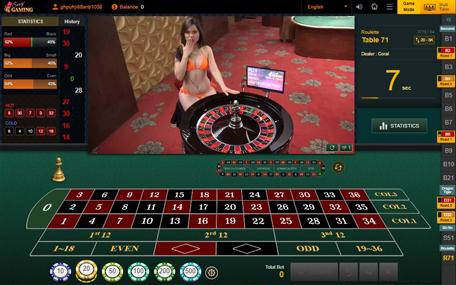 รูเล็ต Sexy Baccarat Sexy Gaming Roulette